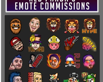 Twitch Emote Comissions