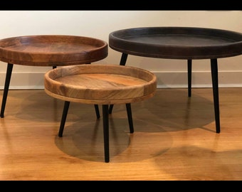 Round Coffee Table With Chairs.Round Coffee Table Etsy