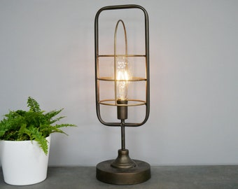 BedSide Table Lamps Desk Lights Retro
