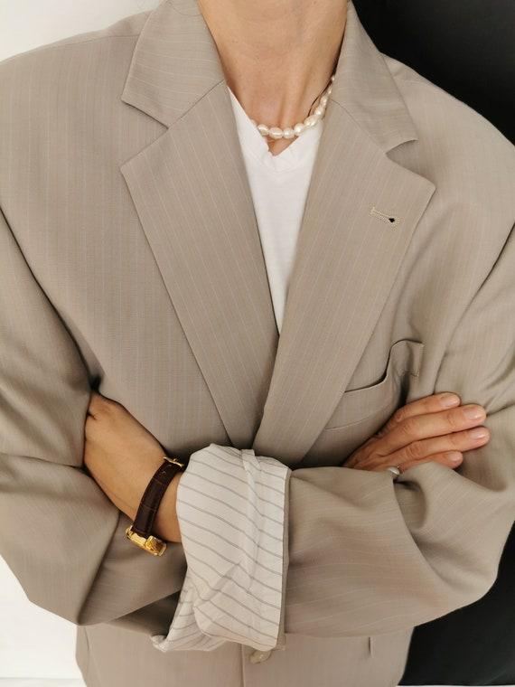 Wool Blazer for Women / Men | Oversized Wool Blaz… - image 9