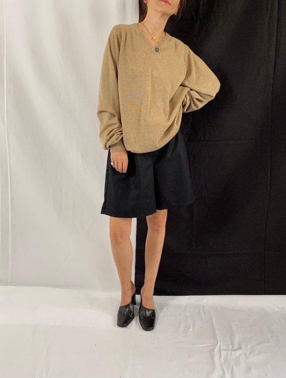 Cashmere Sweater Size S - XL | Beige Cashmere Swea