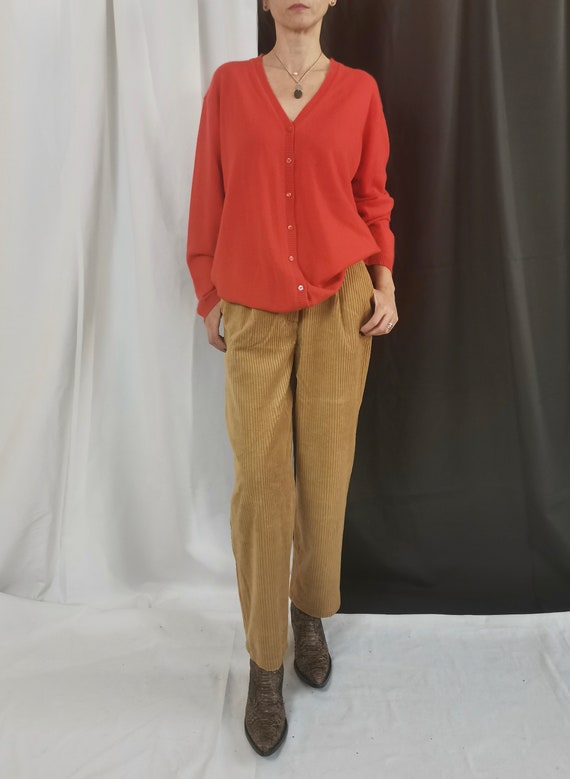 Cashmere Cardigan for Women Size M - L   Coral Ora