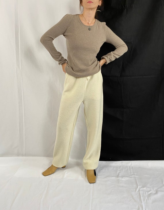 Cashmere Sweater for Women Size S | Greige Cashmer