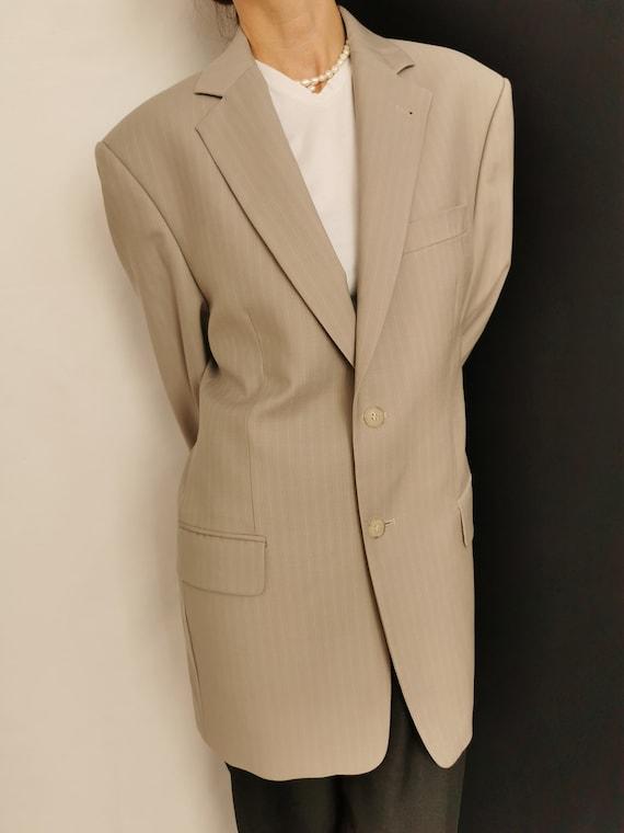 Wool Blazer for Women / Men | Oversized Wool Blaz… - image 7