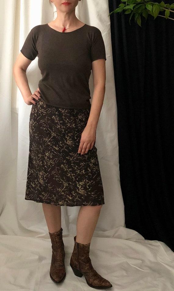 Vintage Silk Skirt Size S | XS | Bias Cut Silk Ski