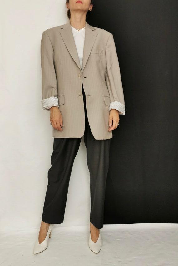 Wool Blazer for Women / Men | Oversized Wool Blaz… - image 1