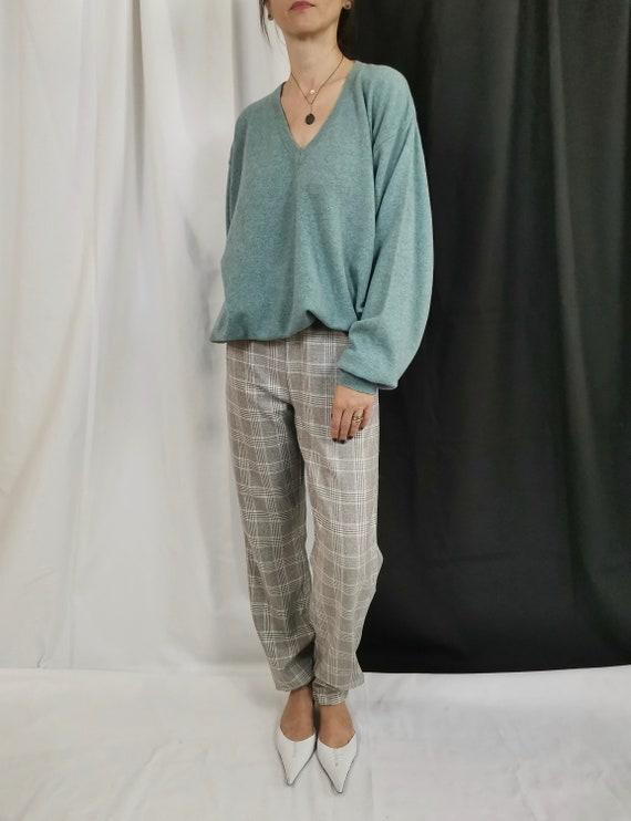 Vintage Merino Sweater   V-Neck Merino Sweater