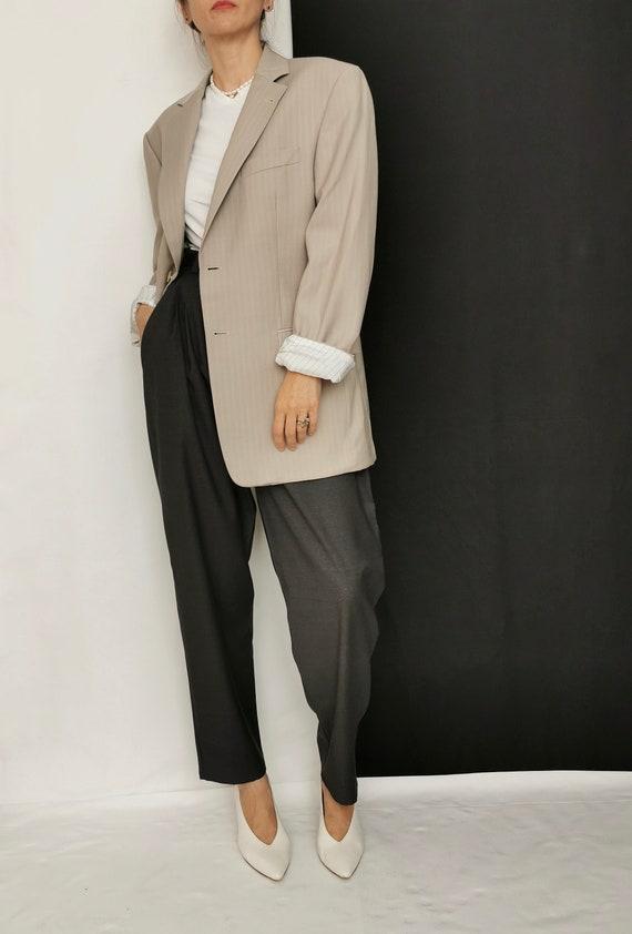 Wool Blazer for Women / Men | Oversized Wool Blaz… - image 3
