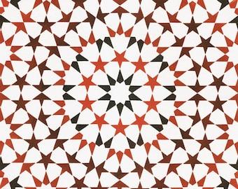 Deca Loop Tile Print