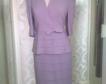 Special occasion, Wedding, Suit, Pastel Lilac