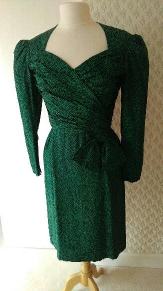Eighties Designer Dress