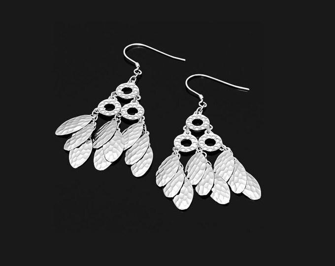 Sterling Silver Dangle Earrings 925 Drop Earring French Hook Ear Wires Fashion Estate Jewelry