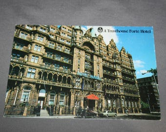 Vintage Hotel Russell London Postcard Unused Photochrome Postcards 1960's Post Card Souvenir Great Britain England A Trusthouse Forte Hotel