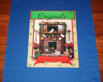 Vintage Christmas Originals Project Booklet Holiday DIY Decorations Patterns Crafts Projects Craft Pattern by Ben Franklin Stores Inc