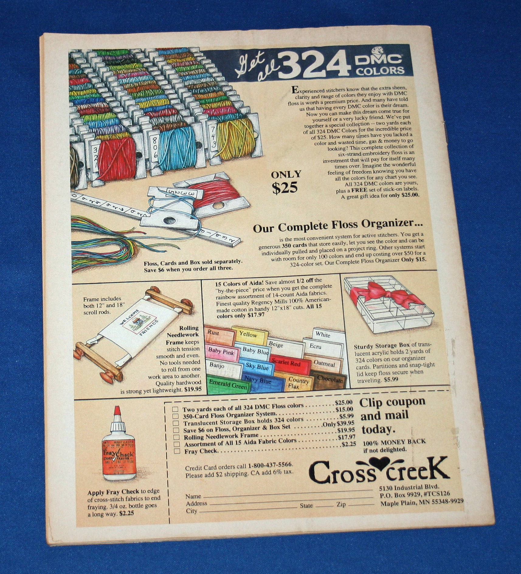 U-PICK 1 FROM 12 Assorted Vintage Cross Stitch Leaflets #A