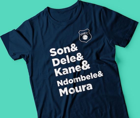 Dele Alli T-Shirt COYS Blue Spurs Tee Tottenham Hotspurs Always Be..