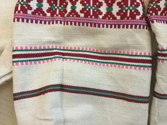 Antique Embroidered Dress Ukrainian Vyshyvanka Ho… - image 8