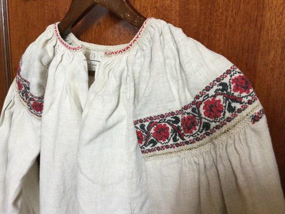 Embroidered Peasant Dress Ukrainian Vyshyvanka Hom