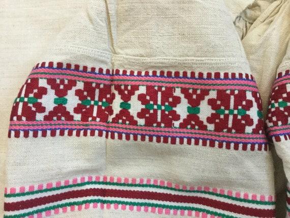 Antique Embroidered Dress Ukrainian Vyshyvanka Ho… - image 7