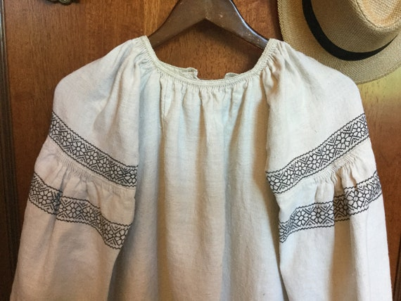 Vintage Ukrainian Vyshyvanka Embroidered Dress Ho… - image 6
