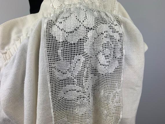 Dirndl Blouse White Cotton Trachten Austria German Bavaria Oktoberfest Folk Clothing Boho Style