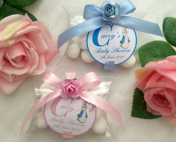 Personalised Baby Shower Mint Favours