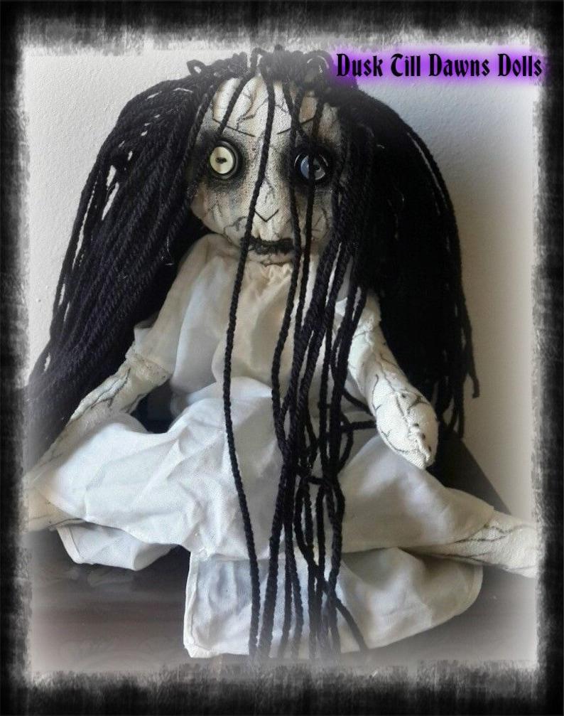 Poupée Samara Doll The À LaEtsy Morgan Chiffon Ring De Gothic mNPvn0wOy8