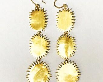 DURIAN dangle earrings