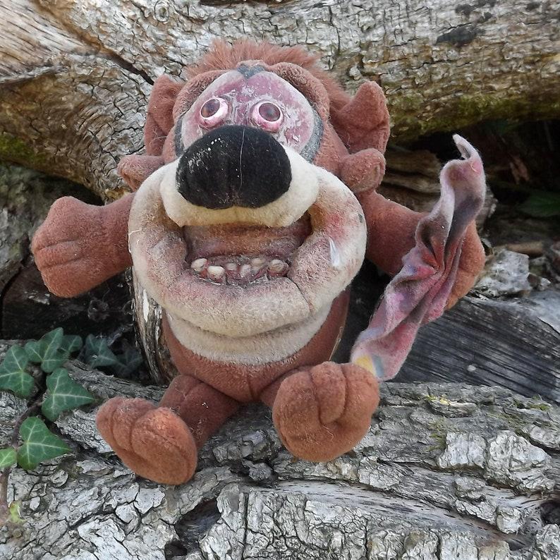 Fallout Dystopia Postapocalypse Mad Max LARP Wasteland Taz Tasmanian Devil Horror Bear Soft Toy