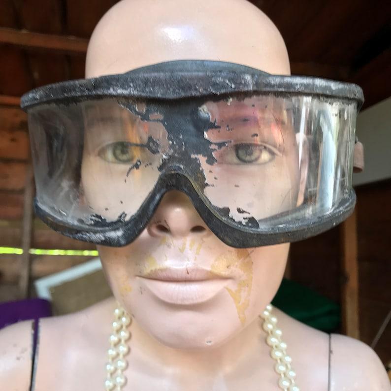 Burning Man Wasteland Weekend Dystopian Mad Max Postapo Wasteland Postapocalyptic Military Goggles LARP Dirt Patina Fury Road V2