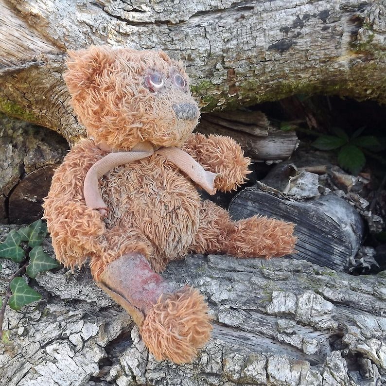 LARP Horror Bear Soft Toy Dystopia Wasteland Brown Mad Max Fallout Postapocalypse