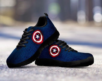 Captain America Collector Running Shoes   Sneakers   Trainers - Kids f3836a00c