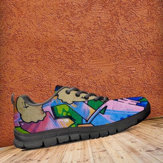 Popeyes Art graffiti formateurs Art de Chaussures color Sneaker baskets wxZqE6vHv