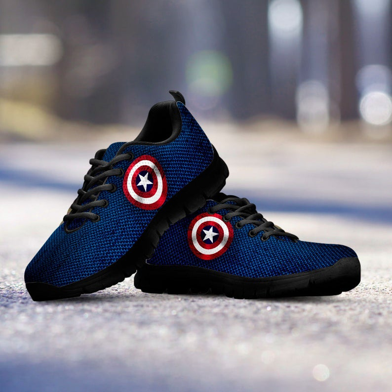 c67751214999c Captain America Collector Running Shoes / Sneakers / Trainers - Kids,  ladies & Men's sizes