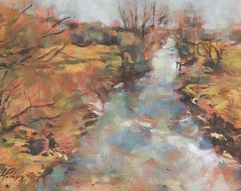 River Otter from St Saviour's Bridge