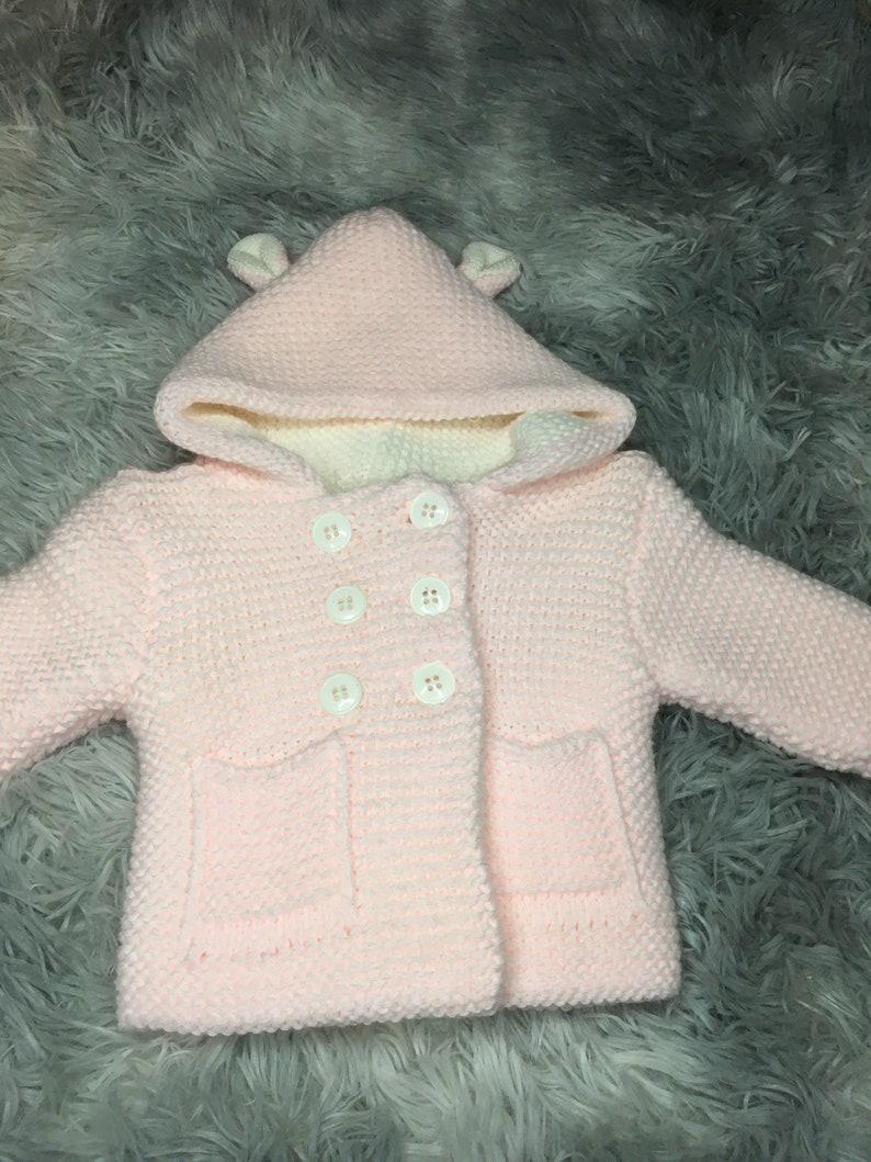 Knitted Pram Coat