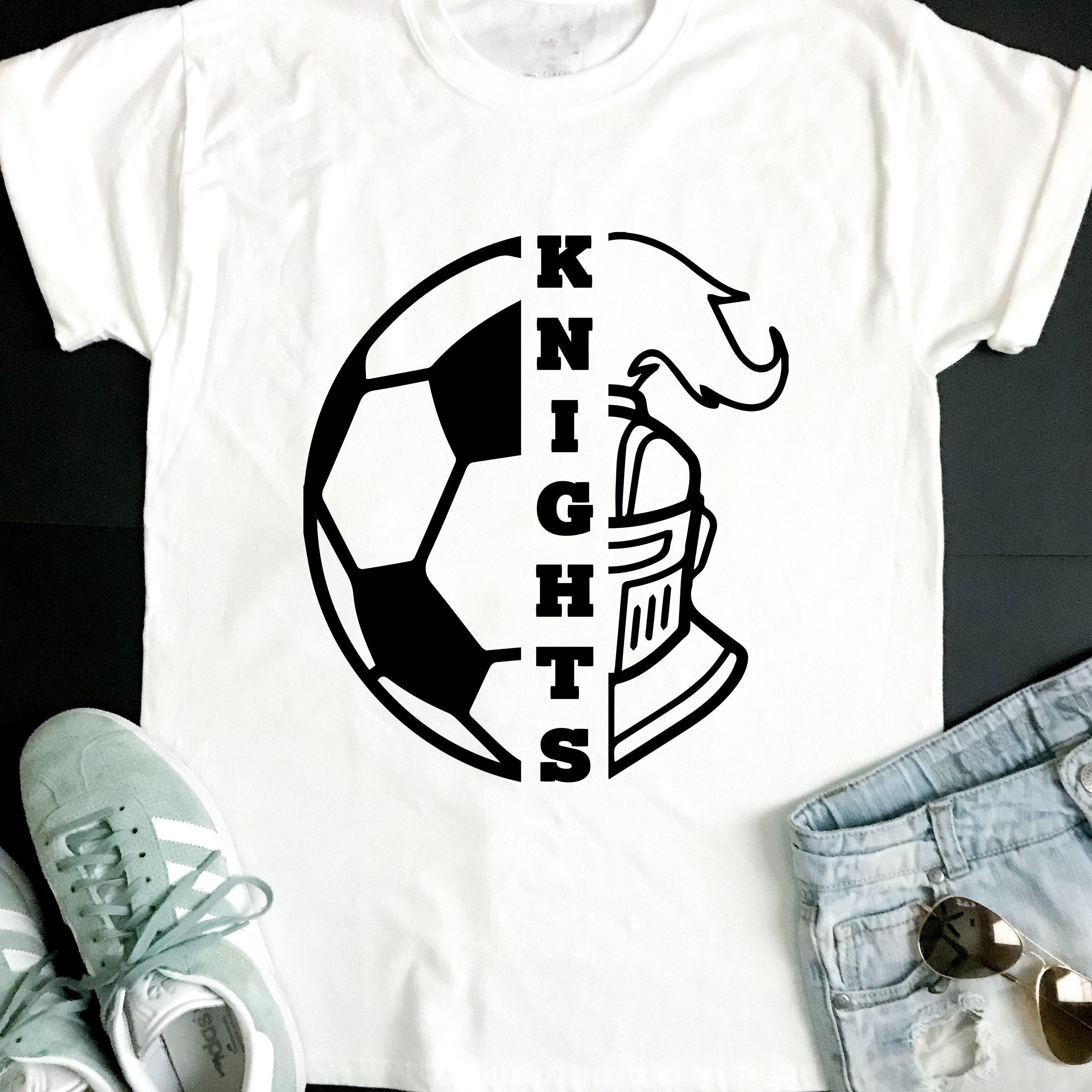 Knights Svg Soccer Svg Knights Soccer T Shirt Design Soccer Etsy