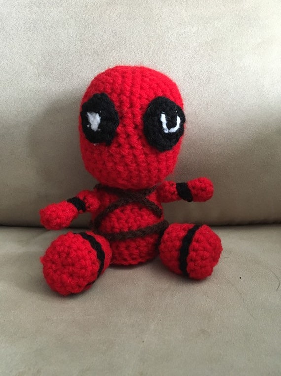 Ravelry: Marvel's Deadpool Doll pattern by Chelsea Thomas | 761x570