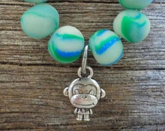 Zodiac Monkey Glow in the Dark Accessory Hoop