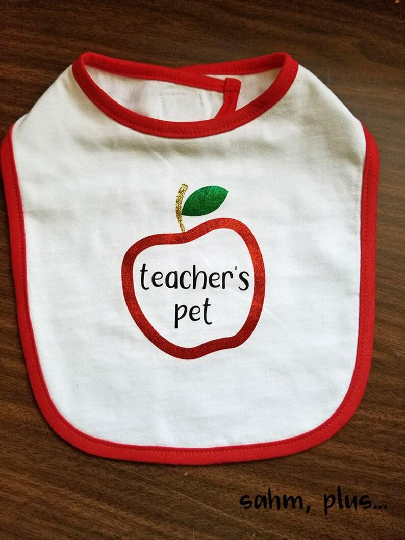 Pregnant Teacher Baby Gift; Teacher/'s Pet Oneise