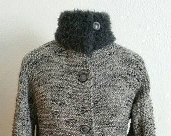Jacket knitted T42