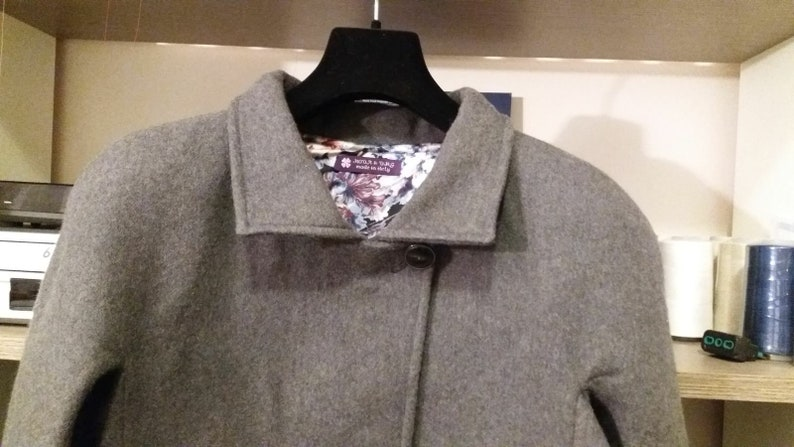 Pure virgin wool jacket with silk felpata