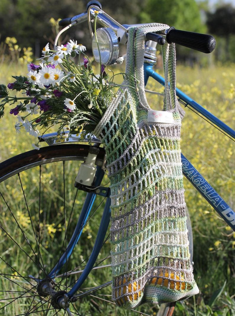 Patrón de crochet MARKET BAG. Tutorial en PDF. Bolsa para image 0