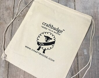 Craftbadge Drawstring Bag