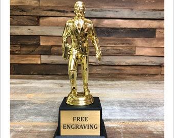 Dundie Award Trophy The Office TV Show Best Salesman Dunder Mifflin