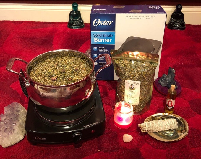Featured listing image: YONI STEAM Starter Kit (without stool) ~ Divine Feminine Medicine ~ Natural Beauty ~ Priestess Wisdom ~ Womb Healing ~ Yoni Steam