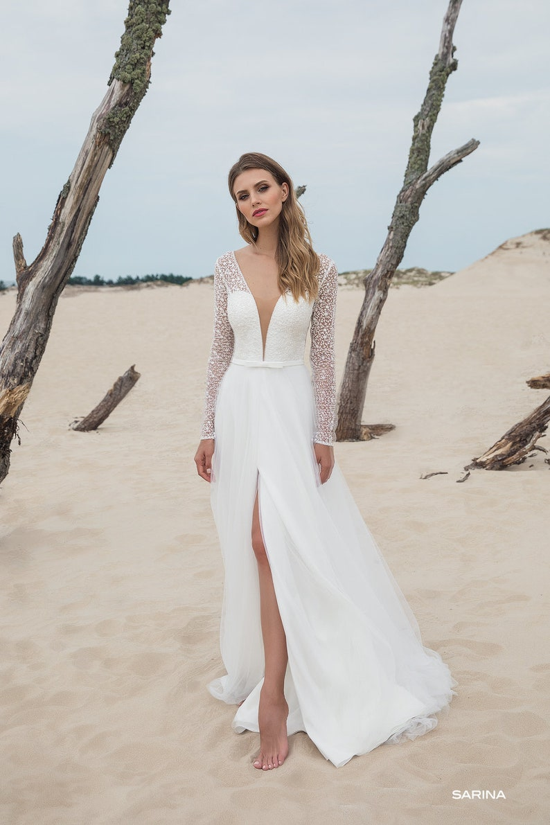 Romantic Wedding Dresses with Lace
