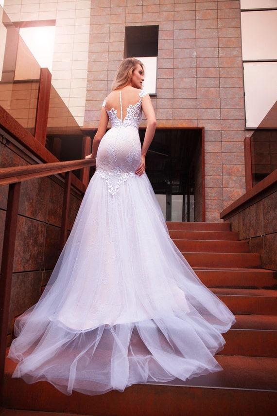 ac2d6c6b8a4 Wedding dresses mermaid.vintage wedding dress 1960 s.