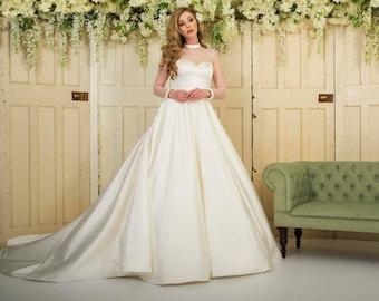 Pocket Wedding Dress Etsy