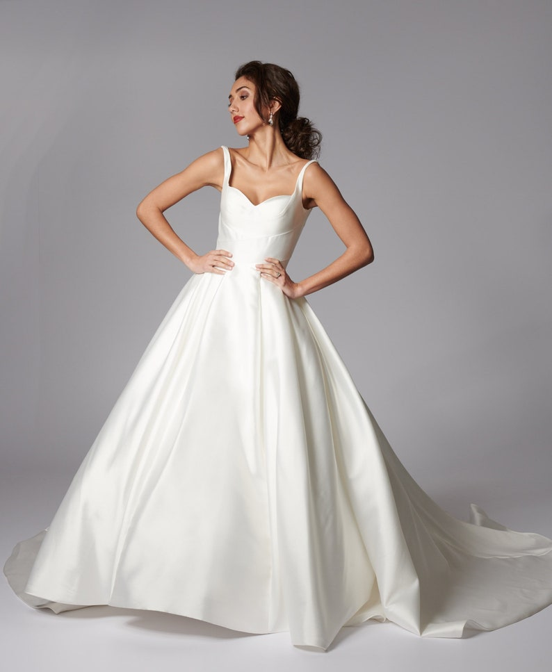 9d2166d99ad5 Grace Philips Original Verity Ball gown wedding dress in   Etsy